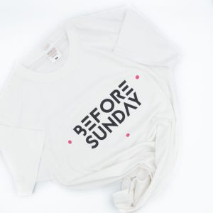 Before Sunday Logo T Shirt White